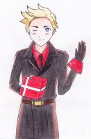 [APH Denmark] A gift for you~ by MinaTenshi