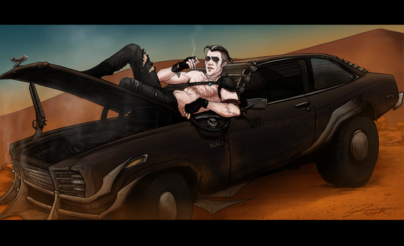 Mad Max- Smoke Break by DJCoulz