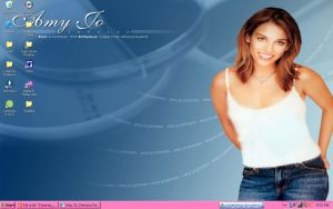 Amy Jo Johnson Desktop by keyofligh88
