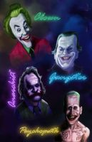 The Jokers  colored by DevonneAmos