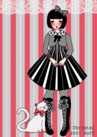 kitty and I by DarkDevi