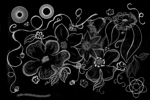 Floral Composition by Rain-Ral