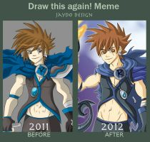 Jaydo Progression MEME by Grim-Raider