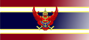 Imperial Thailand flag two by Yinai-185