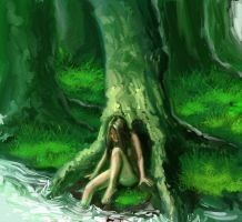 in the wood - WIP by TolmanCotton