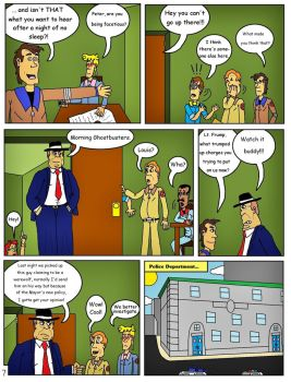 Ghostbusters 1 Comic Page 7 by clinteast