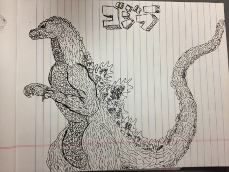 Godzilla, King of the Monsters by PaintFan08