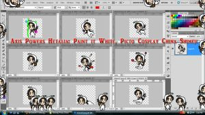 Hetalia: Paint it White: Picto Cosplay China by TionneDawnstar