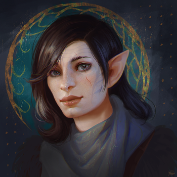 Commission: Hara by Leventart