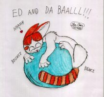 Ed and da ball by Star-Clair