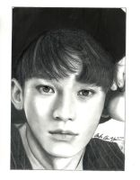 'Soothing Gaze' EXO Chen by RemixedGalaxy