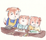 Puppy Craft Time is Serious Business by maybelletea