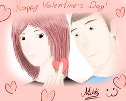Happy Valentine's Day by MichelangelaRenton