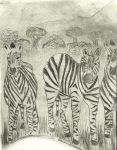 The Zebras by rachel-lafranchi