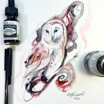 Ink Owl by Lucky978