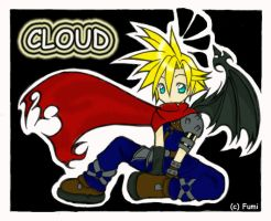 KH: Chibi Cloud by tofumi