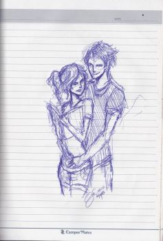 Percabeth by seththelordofstorms