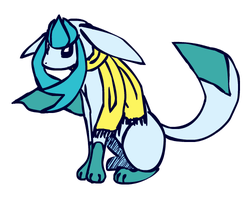 Glaceon is so cute by sunnyfish