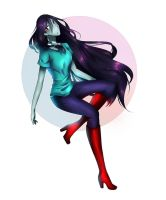 Adventure Time- Marceline by OMGalletusOvO