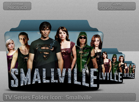 Smallville TV Serie Folder Icon by atty12