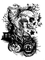Michael Myers Tattoo design by Samuel-Hain