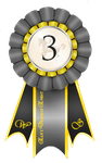 Elite Dressage Event Ribbon 3rd Place by Tigra1988