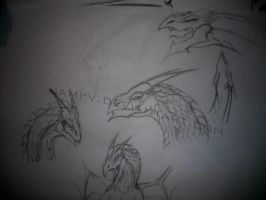 New dragon design... by Nami-v