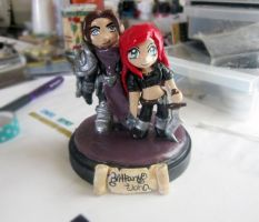 Dreadknight Garren and katarina by Thekawaiiod
