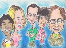 The Big Bang Theory by mepling