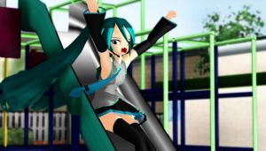 MMD Miku Yeah by Magic-yumi