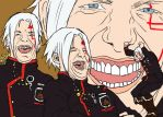 Allen's Triple Laugh by Eggnunguin