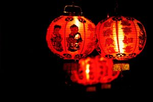 Chinese lanterns by HisNameIsIrene