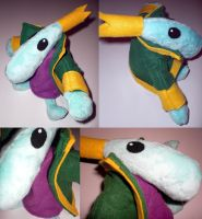 King Teensie Plush -Commission- by 13anana