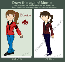 Draw this again ~ Myself by ECookie