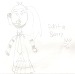 Akita Barry by MarioPhineas76