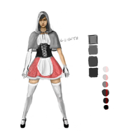 Red Riding Hood WIP by checkityall