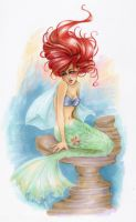A little mermaid by Audelyn