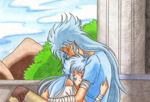 I feel safe in your arms by Marynchan