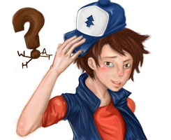wHaT? Dipper Pines by EpicNinjaArtist