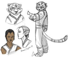 Master Tigress by Pugletz