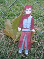 Fall time Gaara by kitkatnis
