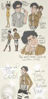 Levi is Too Cool by WillowLightfoot