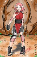 Last Naruto Movie: Sakura Haruno by cxszenster