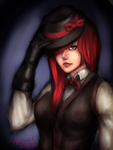 Trilby Girl by Aeogard