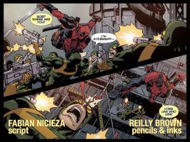 Deadpool Cable Split Second 1 by ReillyBrown