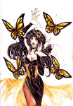 M-P: Yellow Butterflies by Zedela
