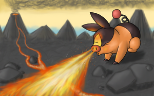 Tepig by nin10do-gamer