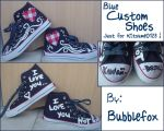 Custom shoes - For Kitsume0123 by Bubblefox