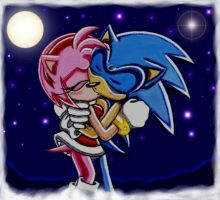 SonAmy: Can't Stop Kissing by ArisuAmyFan