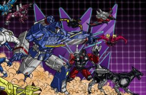 SOUNDWAVE AND FRIENDS 3.0 by 1314